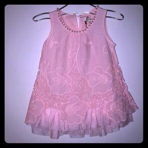 100% Cotton , pretty pink dress